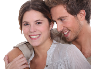 Happy Wife Knowing She Has A Living Benefits Policy